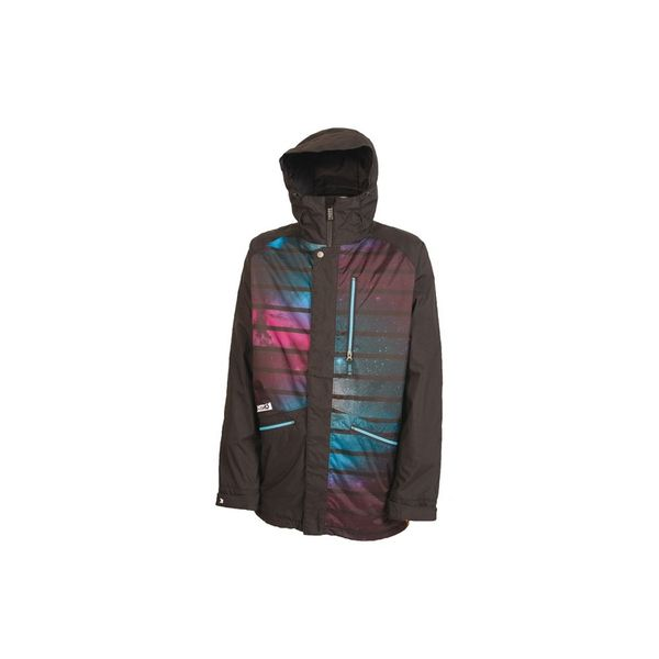 Nitro Herren Snowboardjacke White Riot Jacket , - Black Space Oddity
