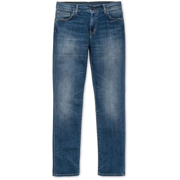 Carhartt WIP Herren Jeans Riot Pant  - Blue  1