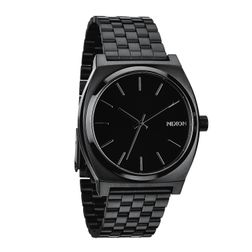 Nixon Herren Uhr Time Teller - All Black  1