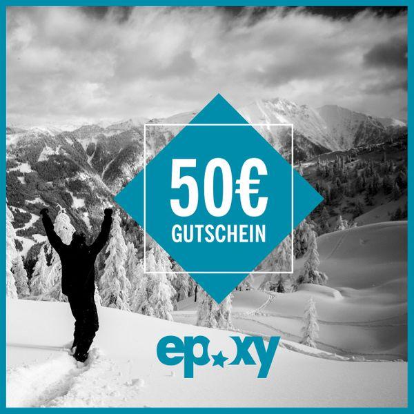 Epoxy Einkaufsgutschein 50€