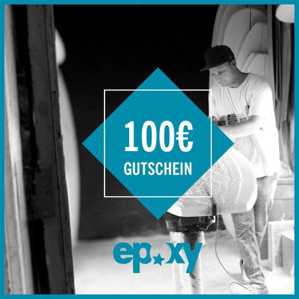 Epoxy Einkaufsgutschein 100€€
