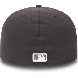 New Era Herren MLB BASIC NY YANKEES Caps  Graphite/White Logo  10010761  3