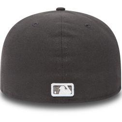 New Era Herren MLB BASIC NY YANKEES Caps  Graphite/White Logo  10010761  3