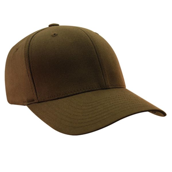 Flex Fit Herren Cap Wooly Combed - brown