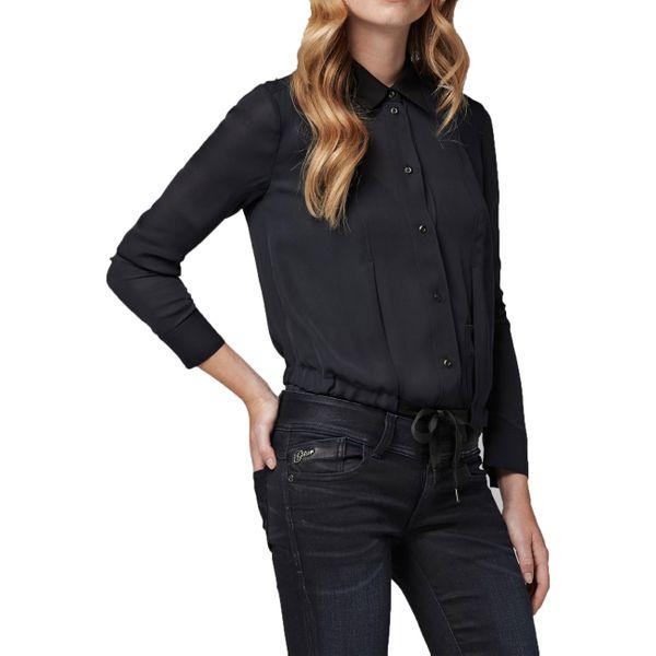 G-Star Damen Hemd char shrt l/s Shirts longsleeve  mazarine blue  93952D.4622.4213  2