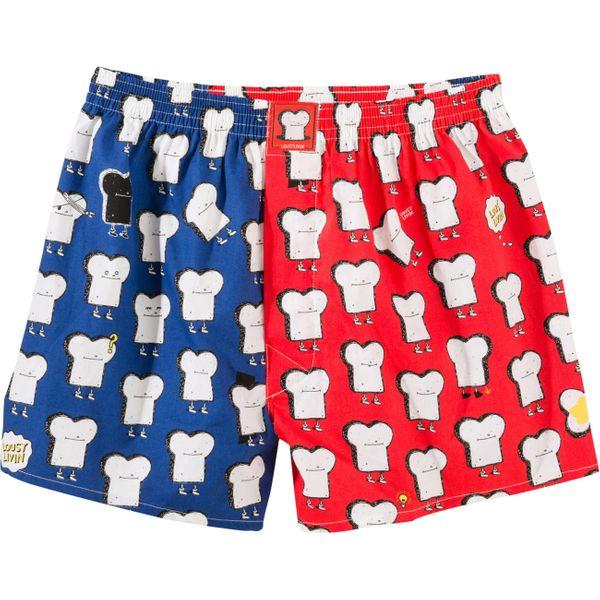 Lousy Livin Herren Boxershort Multicolor Toast  - Grenadine