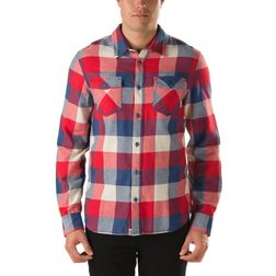 Vans Herren Hemd Box Flannel  - Ensign Blue/ Reinvent Red 1
