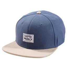 Cleptomanicx Cap Badgar  - Blue 1