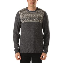 Vans Herren Pullover M Tahoe  - New Charcoal Heather/ Bone White 1