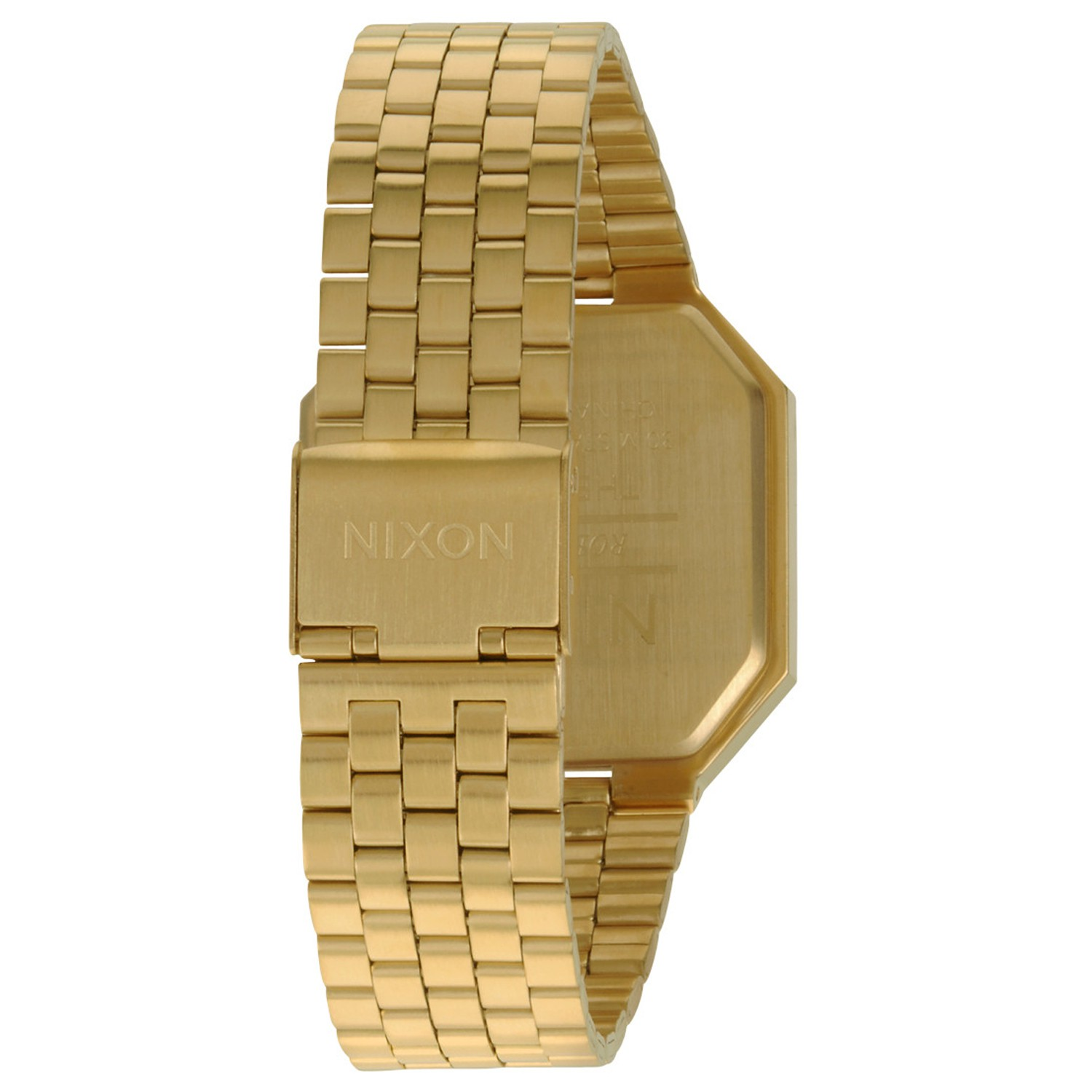 nixon herren uhr re run all gold. Black Bedroom Furniture Sets. Home Design Ideas