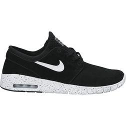 Nike SB Herren Sneaker Stefan Janoski Max Leather - BLACK/WHITE  1