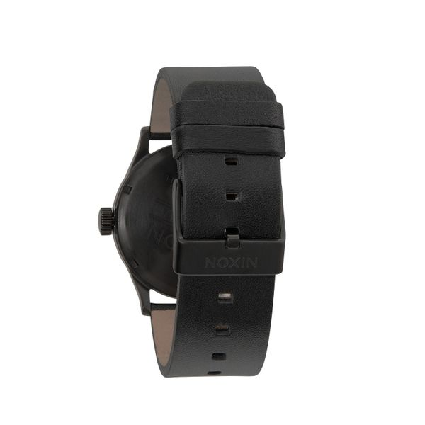 Nixon Herren Uhr Sentry Leather - All Black  3