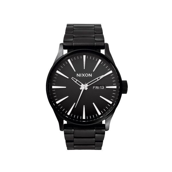 Nixon Herren Uhr Sentry SS - All Black  1