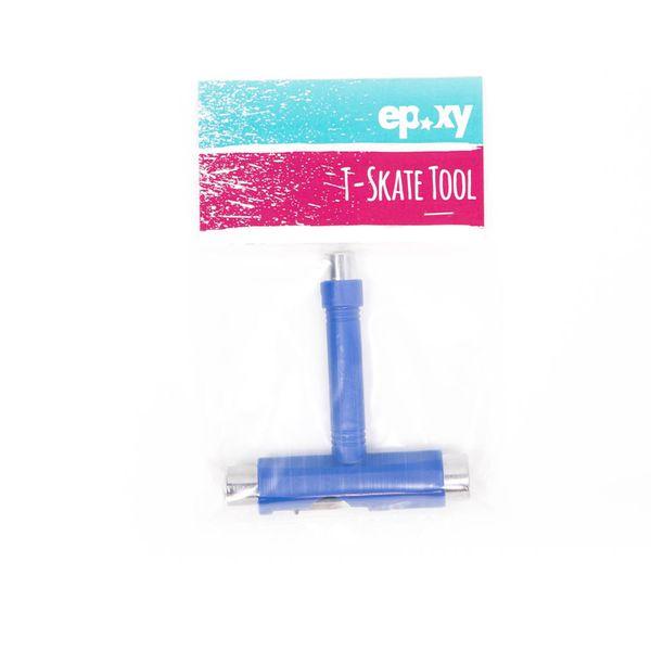 Epoxy Skatetool T-Skate Tool Multifunktionstool  - blue 2