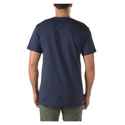 Vans Herren T-Shirt Native Stripe Pock  - Navy 2