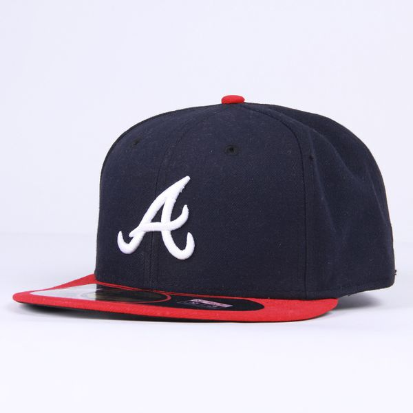 New Era Herren Cap AUTHENTICS ATLANTA BRAVES - MLB 1