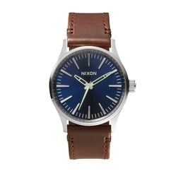 Nixon Herren Uhr Sentry 38  - Blue/Brown 1