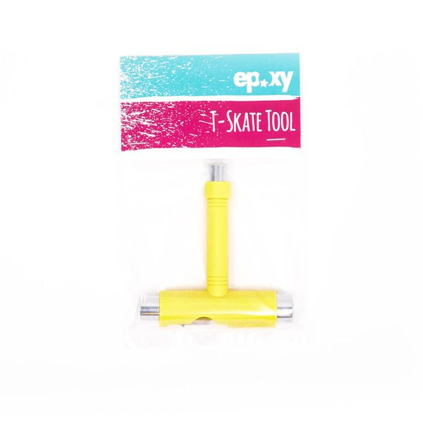 Epoxy Skatetool T-Skate Tool Multifunktionstool  - yellow 2