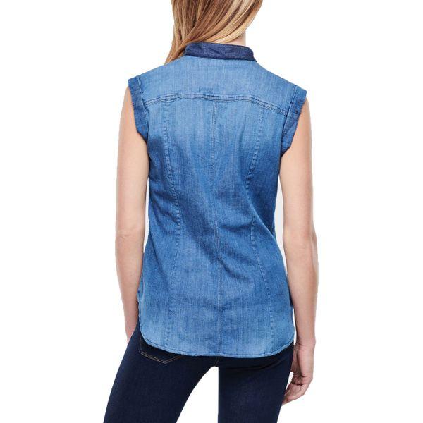 G-Star Damen Hemd mdg dmnt sl sls Shirts longsleeve  medium aged  93618E.6779.071  3