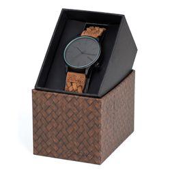 Komono Herren Uhr Winston Woven - Chestnut  2