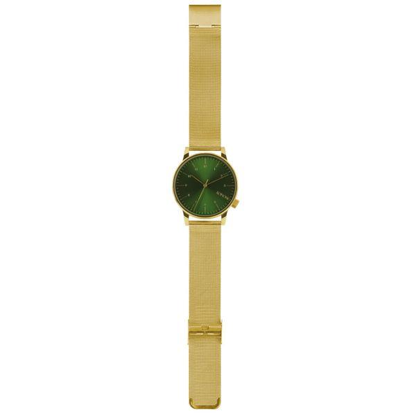 Komono Herren Uhr WINSTON ROYALE - GOLD - GREEN  2