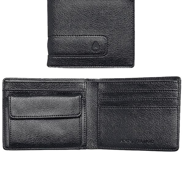 Nixon Herren Geldbörse Showout Bi-Fold  - All Black