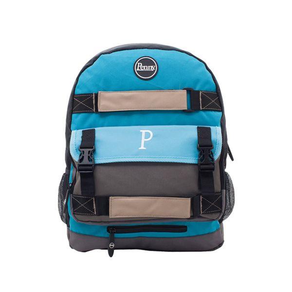 Penny Rucksack Penny Pouch Bag 'Skateboardrucksack  - blue grey black  2