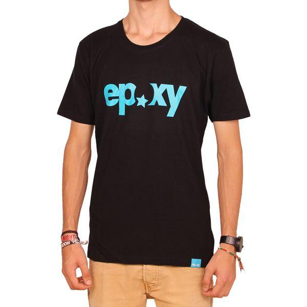 Epoxy Herren Organic Logo T-Shirt  - Black 1