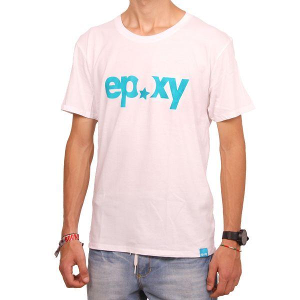 Epoxy Herren Logo T-Shirt  - White 1
