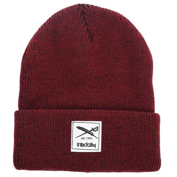 Iriedaily Mütze Smurpher Heavy  - Maroon-Melange