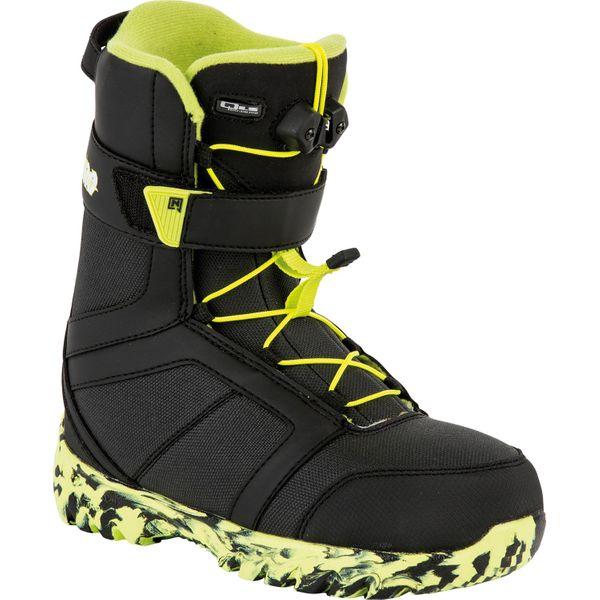Nitro Kinder Snowboardboots ROVER QLS´16 - Black-Lime