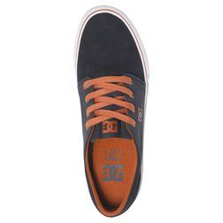 DC Herren Schuh Trase SD Skateshoe  - Blue/White/Brown 3