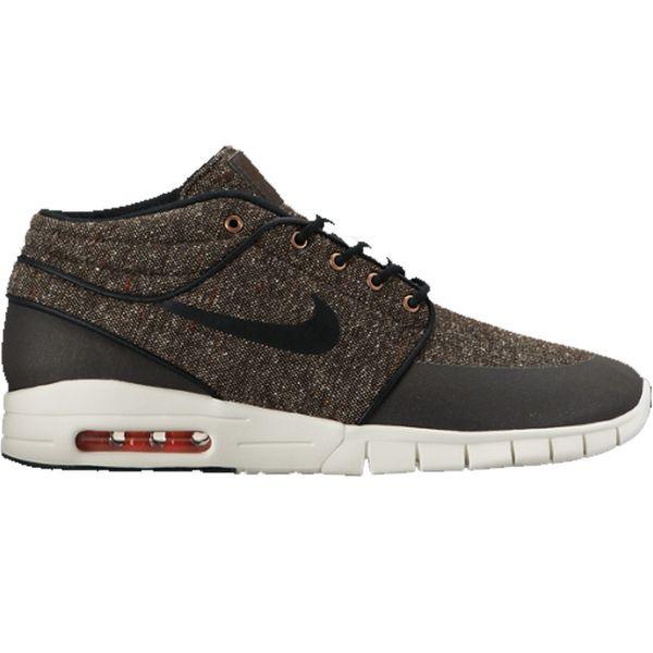 Nike SB Herren Sneaker Stefan Janoski Max Mid - BAROQUE BROWN/BLACK-  1