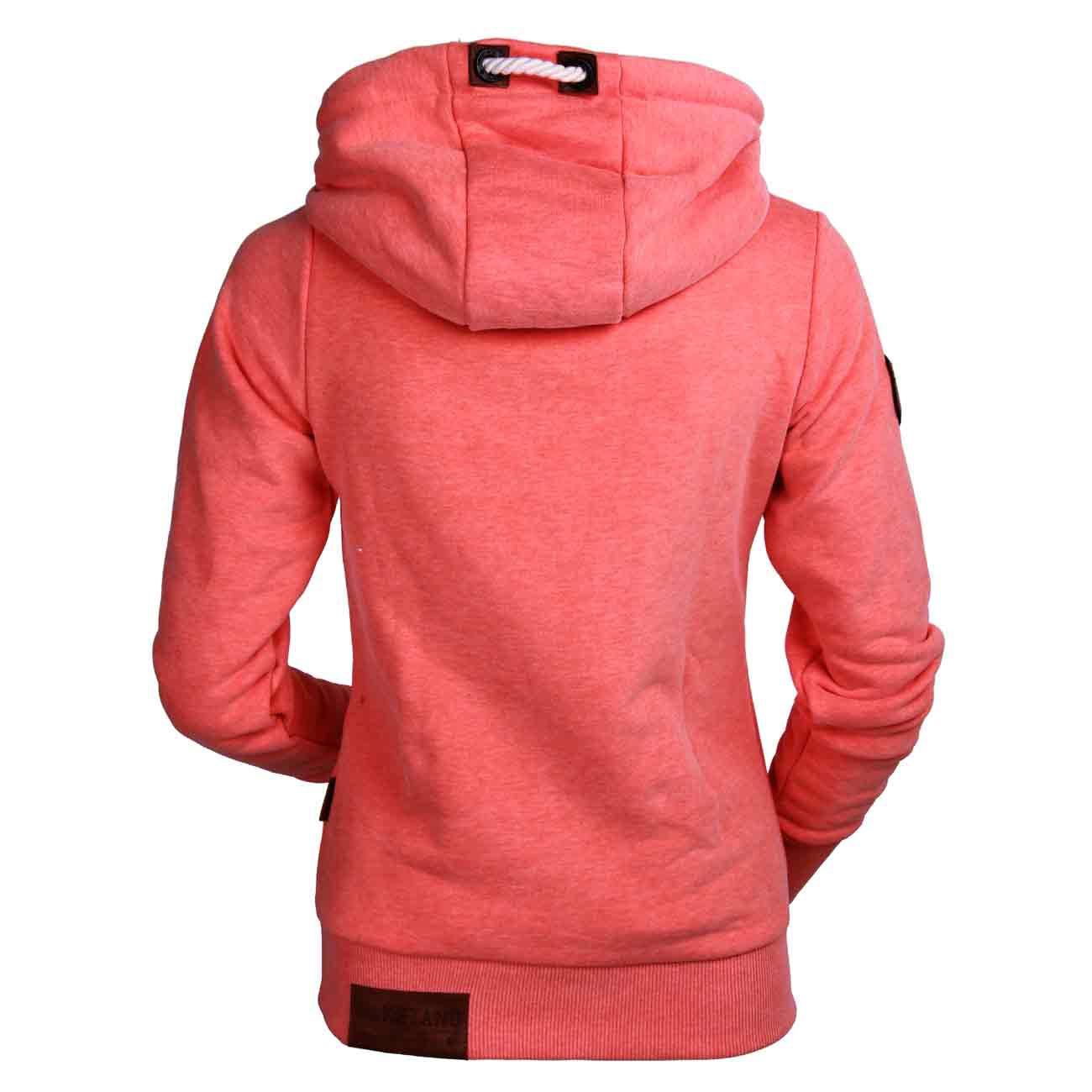 naketano damen hoodie schmierlappen vi 562 orange melange. Black Bedroom Furniture Sets. Home Design Ideas