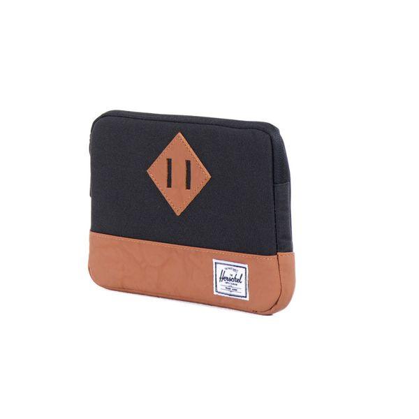 Herschel Herren iPad-Tasche Heritage Sleeve for iPad Mini Sleev - Black/Tan  2