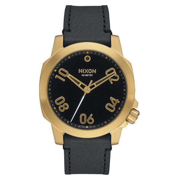 Nixon Herren Uhr Ranger 40 Leather