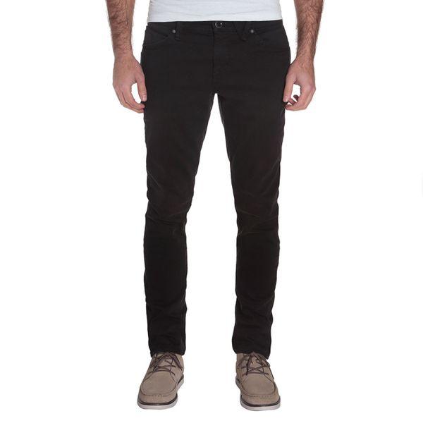Volcom Herren Jeans 2X4 DENIM - INK BLACK  1