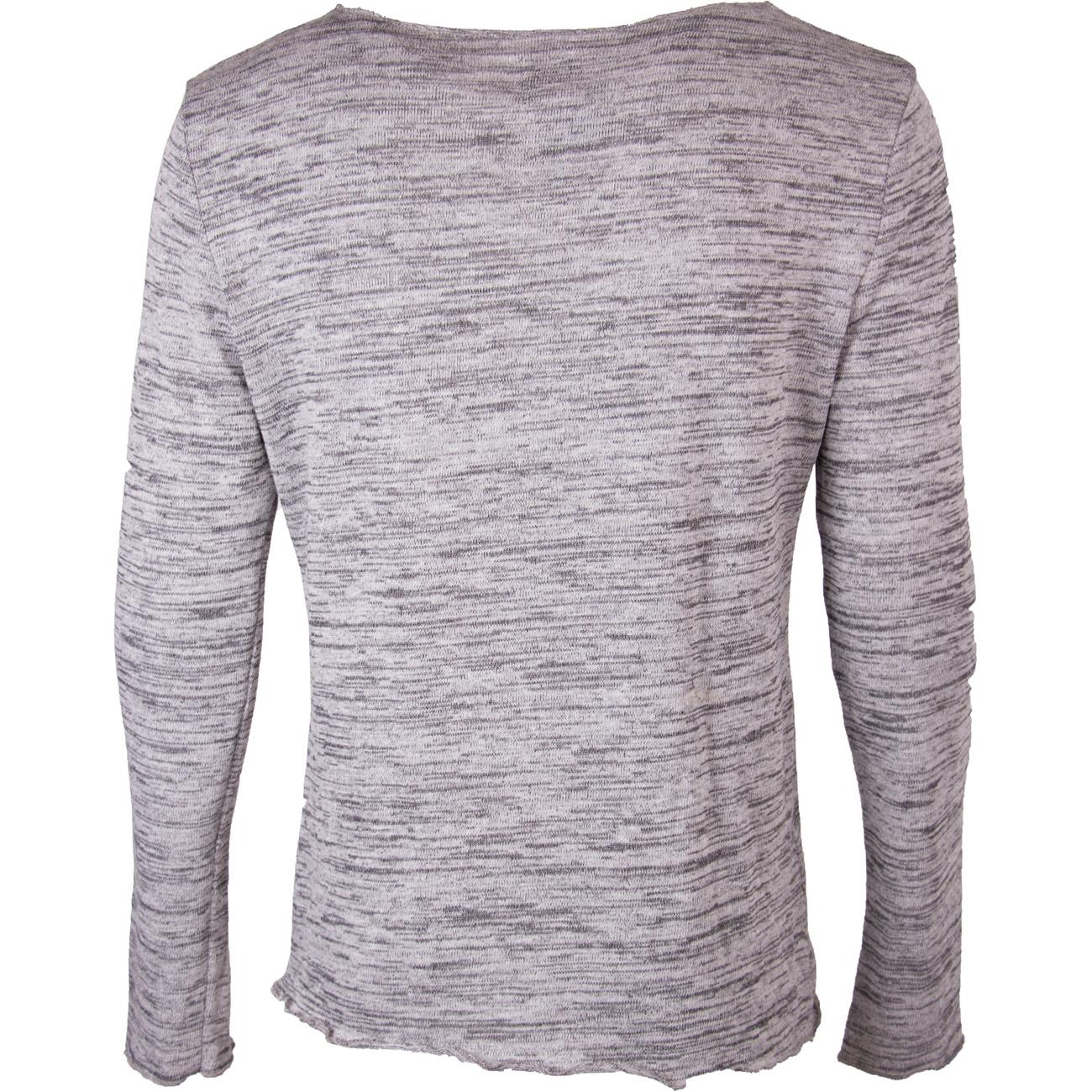 mazine herren sweatshirt woolhope crew neck light black. Black Bedroom Furniture Sets. Home Design Ideas