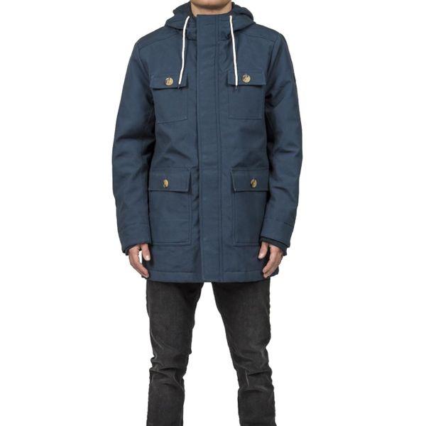 premium selection c2021 3bda7 Revolution Herren Parka Jacket Heavy - blue