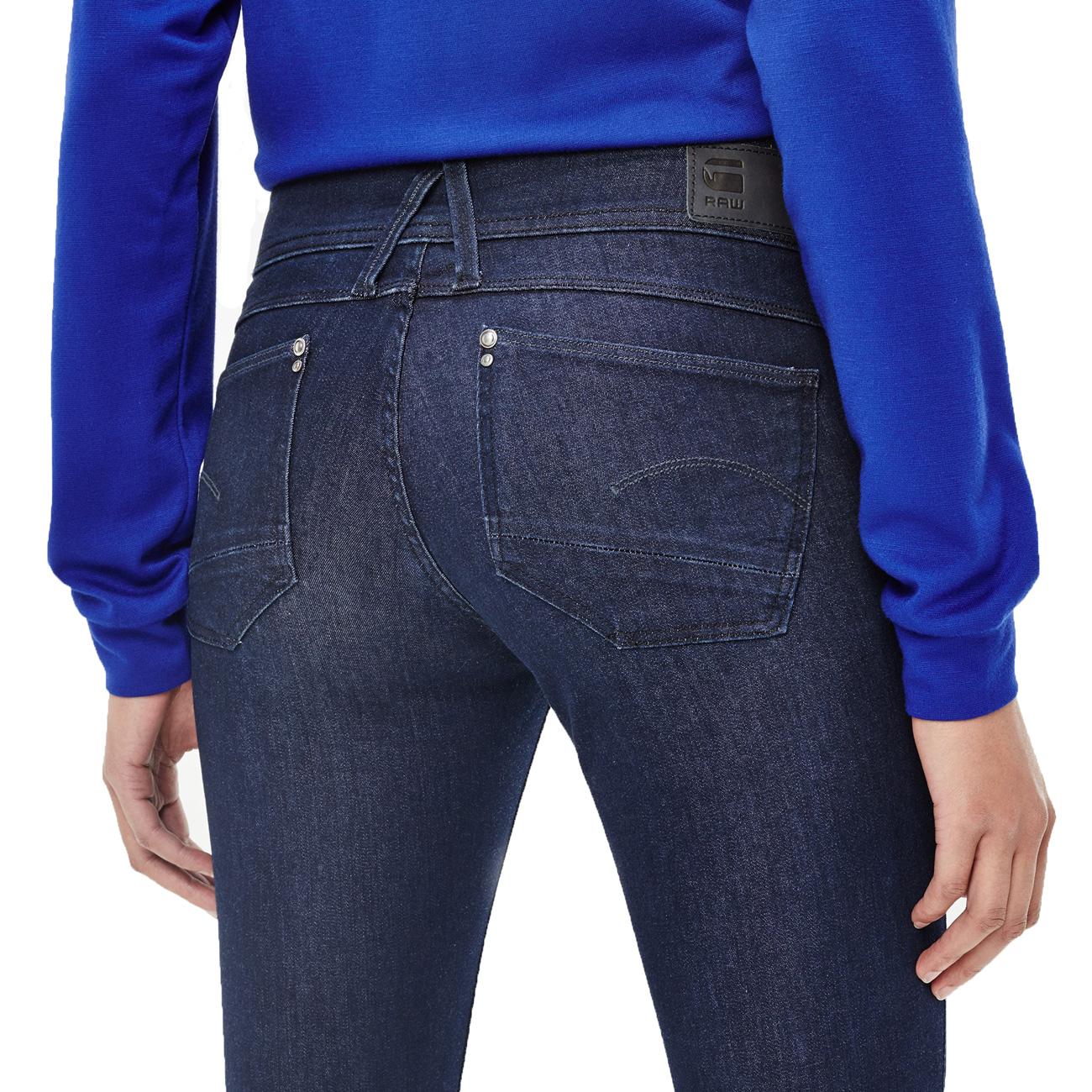 on sale 1251b aa2bd G-Star Damen Jeans Lynn Mid Skinny Wmn - rinsed