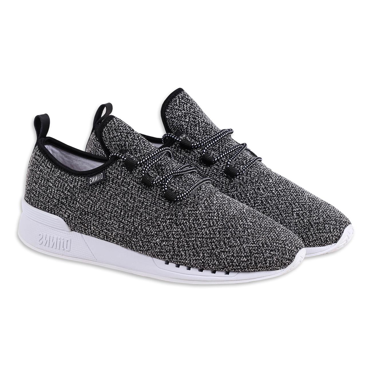 Djinns Herren Sneaker II MocLau Squeeze II Sneaker schwarz cdf834