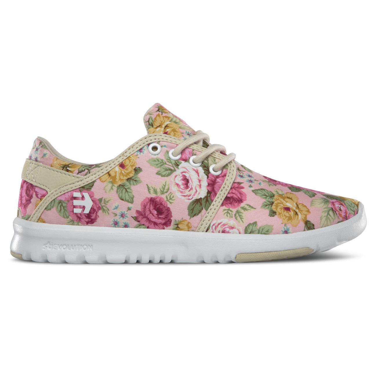 Etnies Damen Sneaker Scout W'S - White/fuchsia MWQi2x