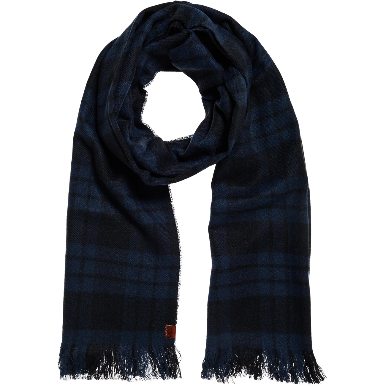 Superdry herren schal capital check tassle scarf for Schal binden herren