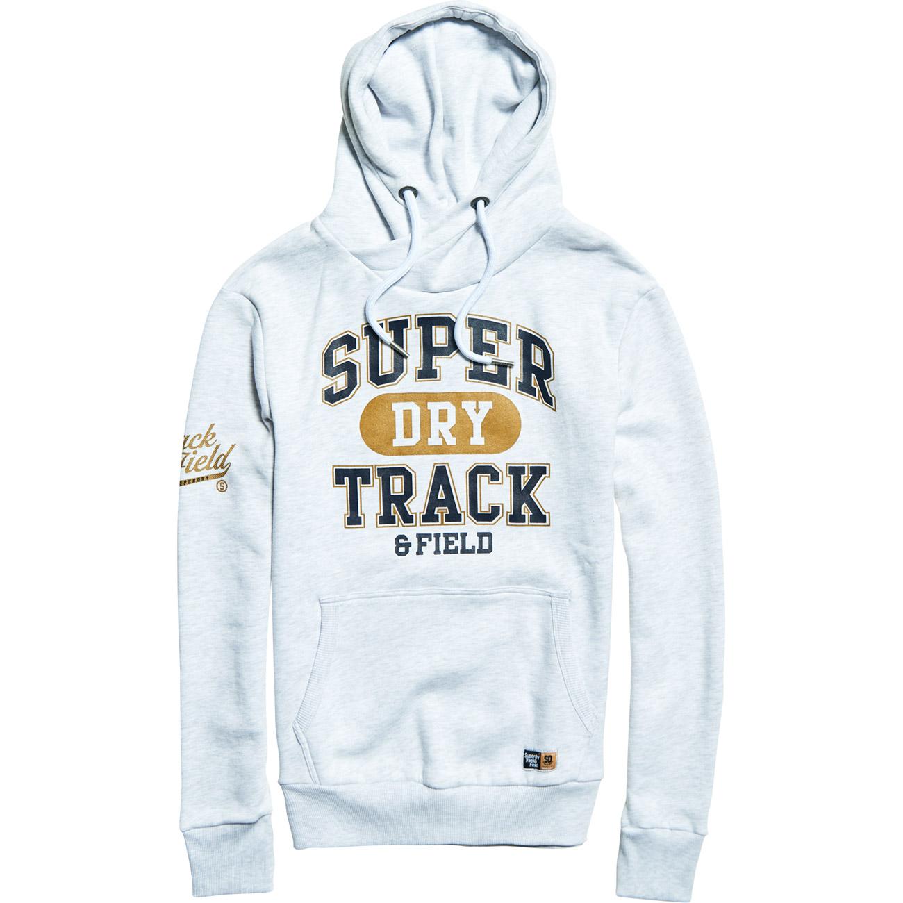 premium selection 2c111 28b9b Details zu Superdry Herren Hoodie SUPER TRACK METALLIC HOOD