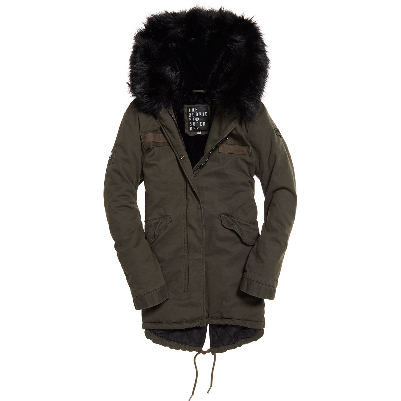 low priced a2289 f1e19 Superdry Damen Jacke ROOKIE HAWK PARKA