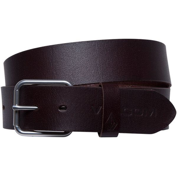 Volcom Herren Ledergürtel Effective Lth Belt  1