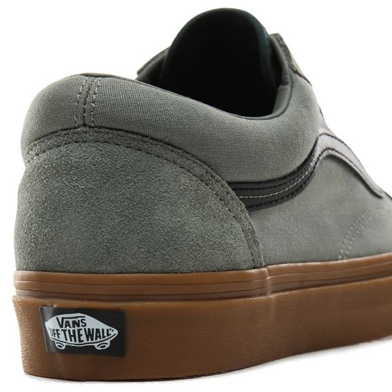 Vans Old Skool Schuh (shadow trekking green gum) kaufen bei